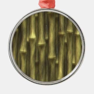 Bamboo - metal ornament