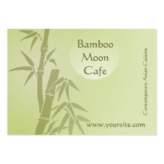 Bamboo Moon Cafe Business Card