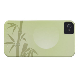 Bamboo Moon iPhone 4 Cover