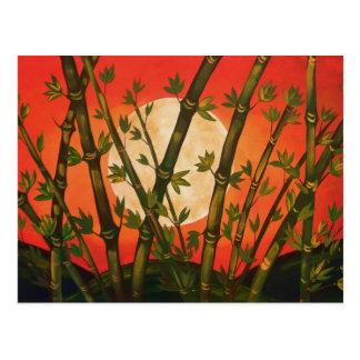 Bamboo Moon Postcard