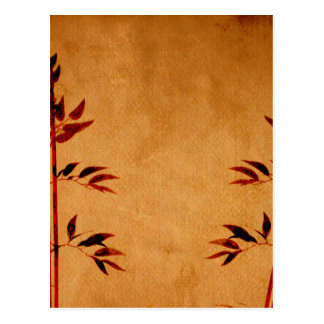 Bamboo on Parchment Post Cards
