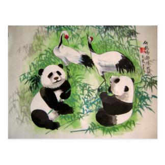 bamboo orchestra postcard