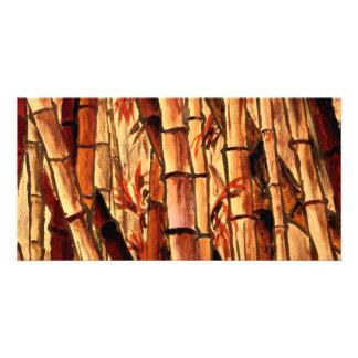 bamboo painting Asian Oriental art Card