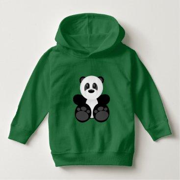 heartlocked Bamboo Panda Bear Hoodie