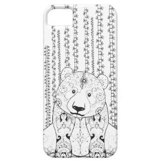 Bamboo Panda Doodle iPhone SE/5/5s Case