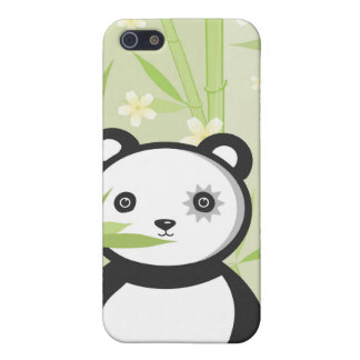 Bamboo Panda i Cover For iPhone SE/5/5s