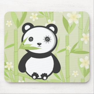 Bamboo Panda Mousepad