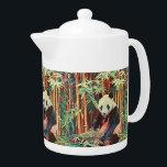 "Bamboo Panda Teapot<br><div class=""desc"">A cute panda in a bamboo grove.</div>"