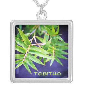 Bamboo Personalized Necklace
