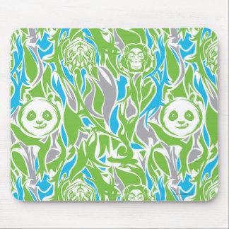 Bamboo Po Pattern Mouse Pad