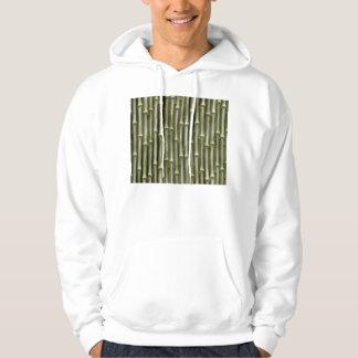 Bamboo Poles Texture Hoodie