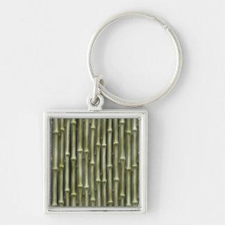Bamboo Poles Texture Keychain