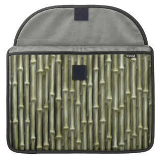 Bamboo Poles Texture Sleeve For MacBooks