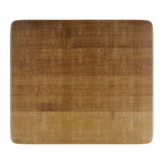 Bamboo Print on Glass Cutting Board