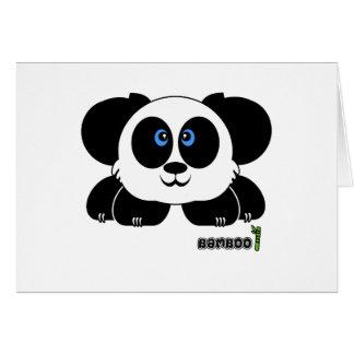 Bamboo Pudgie Pet Card