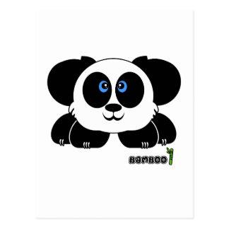 Bamboo Pudgie Pet Postcard