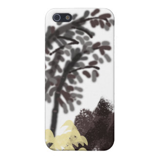 Bamboo,rocks and grass iPhone SE/5/5s case