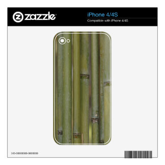 Bamboo Decal For The iPhone 4