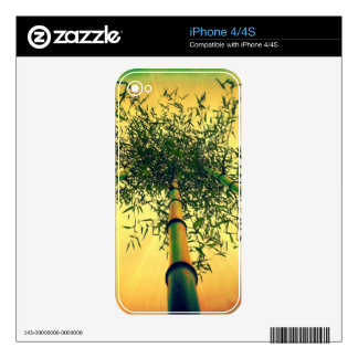 Bamboo Sky iPhone 4 4S skin Decal For The iPhone 4S