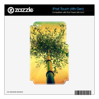 Bamboo Sky iPod Touch (4th Gen) skin iPod Touch 4G Decal