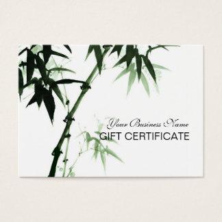 Bamboo Stalks Oriental Zen Touch Gift Certificate
