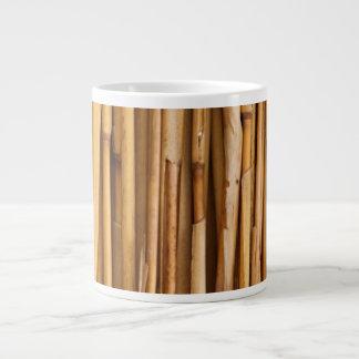 Bamboo Sticks Cover Large Coffee Mug