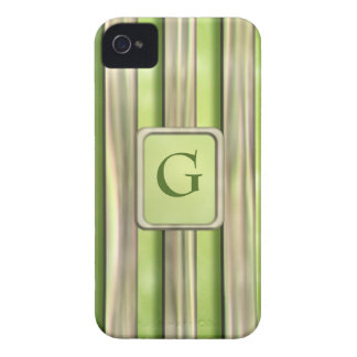 Bamboo Stripes iPhone 4 Case