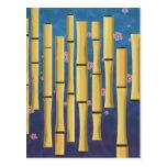 Bamboo Stripes Postcard