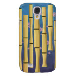 Bamboo Stripes Samsung Galaxy S4 Covers
