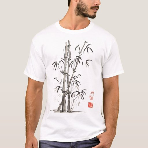Bamboo t shirt zazzle for Bamboo t shirt printing