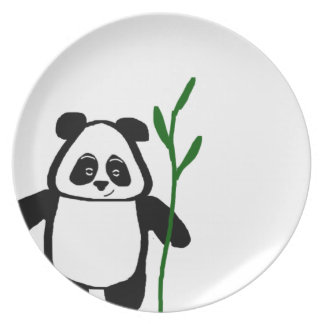 Bamboo the Panda Plate