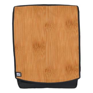 Bamboo Toast Wood Grain Look Backpack