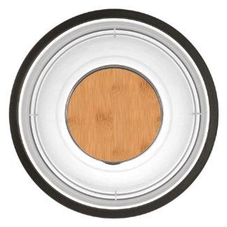 Bamboo Toast Wood Grain Look Bowl