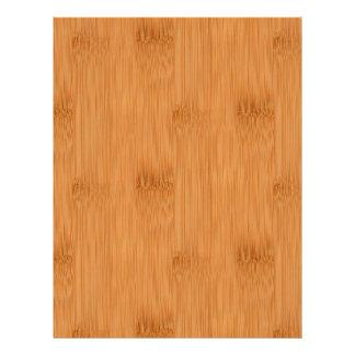 Bamboo Toast Wood Grain Look Flyer