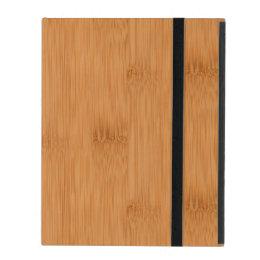 Bamboo Toast Wood Grain Look iPad Cover