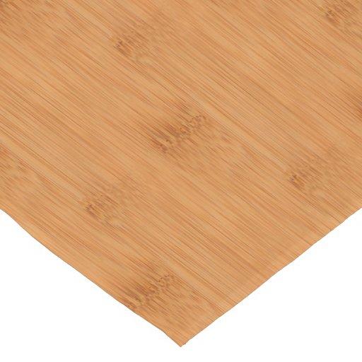 Bamboo Toast Wood Grain Look Short Table Runner Zazzle