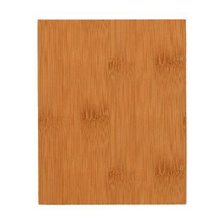 Bamboo Toast Wood Grain Look Wood Wall Decor