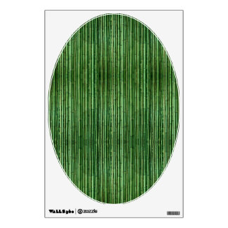 Bamboo Toilet Lid Decal