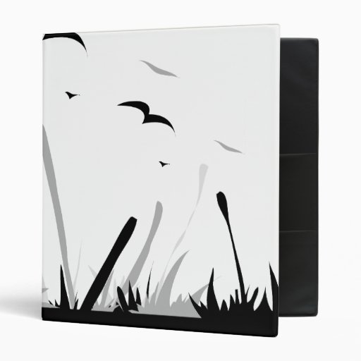 Bamboo Touch the Sky 3 Ring Binders