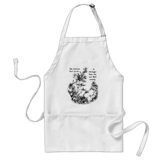 Bamboo Tree and Branches Adult Apron