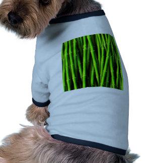 Bamboo tree natural pattern hipster fun trendy chi pet t shirt