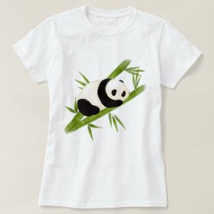 Panda Gift Animal Shirt Panda Bear Tee Geometric panda Sweatshirt Cute Panda Shirt Panda Lover Gift,Panda Sweat Minimal Line Art Shirt