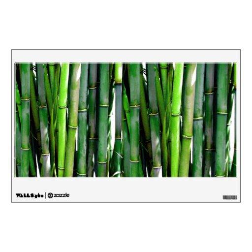 Bamboo Wall Decal   Zazzle
