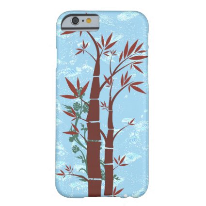 Bamboo with Blue Sky Background Barely There iPhone 6 Case