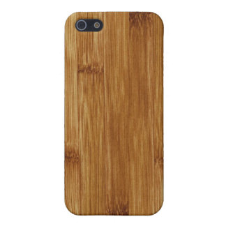 Bamboo wood iPhone 5/5S case
