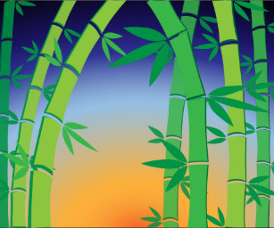bamboo and wrapping paper zazzle
