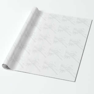 bamboo plants wrapping paper zazzle