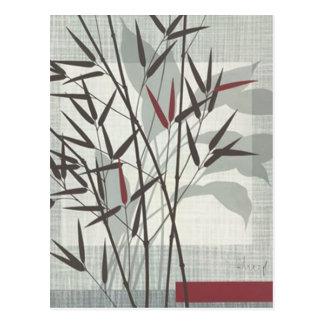 bamboos postcard
