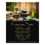 Bamboospa Products Beauty Salon Business Flyer at Zazzle