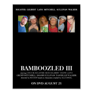 BAMBOOZLED 3 Official Movie Poster